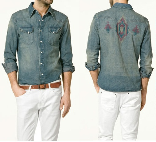 A little midwestern flair goes a long way jandy monroe for Zara mens shirts sale