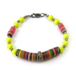theFFS Vulcanite Bracelet- $275.00